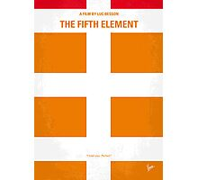 No112 My Fifth Element minimal movie poster Photographic Print