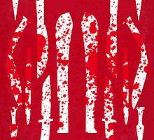 No114 My Machete minimal movie poster by Chungkong