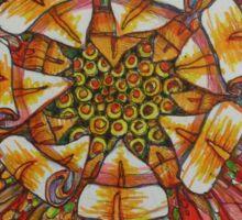 Sunsun flower Sticker