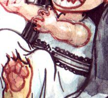 Cowry Catchers - Morchella Sticker