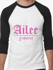 Ailee Logo Men's Baseball ¾ T-Shirt