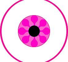 Psychedelic Pink Eye by somethingkinda