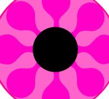 Psychedelic Pink Eye Sticker