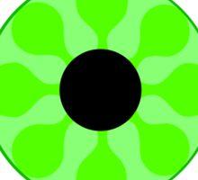 Psychedelic Green Eye Sticker