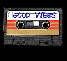 Funny music tape cassette - Good Vibes  by RestlessSoul