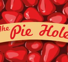 The Pie Hole Sticker