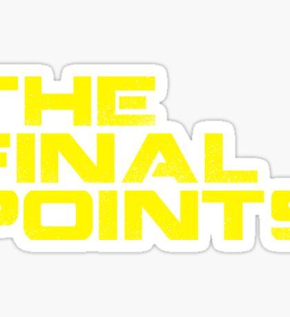 The Final Points (Logo) - Sticker Sticker