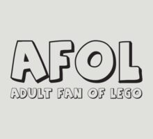AFOL Adult Fan of LEGO® T-Shirt by Customize My Minifig by Chillee