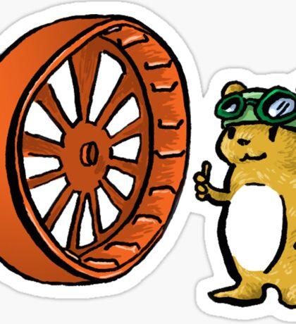 Hamster Sticker! Sticker