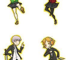 Persona 4 Arena set 1 by blackwolf8