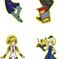 Persona 4 Arena set 2 by blackwolf8