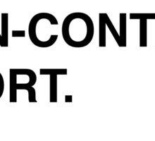Formula One is a non-contact sport... someone tell Grosjean. sticker. Sticker