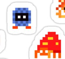Mini Pixel Kanto Grass Types - Set of 9 Sticker
