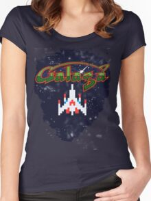 Galaga Women's Fitted Scoop T-Shirt