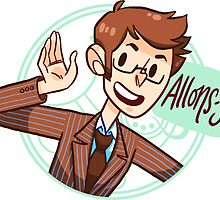 Another Allons-y! Sticker by nowaitwhat