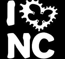 I Ride NC by fastandugly