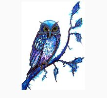 Owl, The Wisdom Keeper Womens Fitted T-Shirt