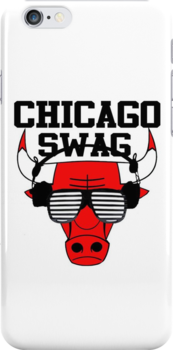 Chicago Swag iPhone case by Viral5