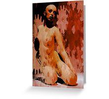 Nude XI Greeting Card
