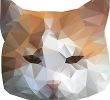cat head by BoYusya