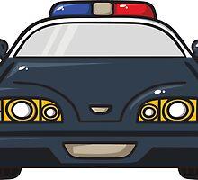 police car by BoYusya