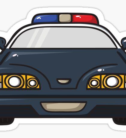 police car Sticker