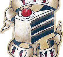 "Portal - ""Lie to Me"" - Sticker by ianleino"
