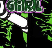TANK GIRL STICKER Sticker