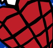 Heart Hand Grenade  Sticker