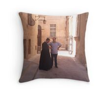 HEAVENLY CHAT Throw Pillow
