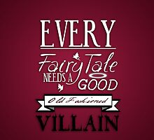 Good Old Fashioned Villain by KitsuneDesigns
