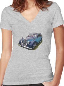 Celebration Car  TEE/BABY GROW Women's Fitted V-Neck T-Shirt