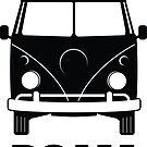 ROAM VW Surf Bus Sticker by ROAM  Apparel