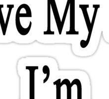 Why Wouldn't I Love My Job? I'm A Journalist  Sticker