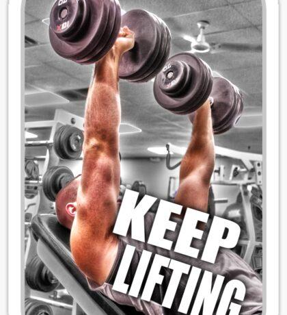 Keep Lifting Sticker