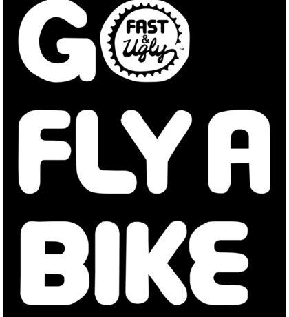 Go Fly a Bike Sticker