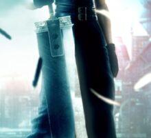 Final fantasy VII- Zack and Cloud Sticker