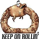 Keep On Rollin' - sticker by Demmy