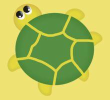 Turtle T Shirt For Children One Piece - Short Sleeve