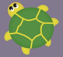 Turtle T Shirt For Children Kids Tee