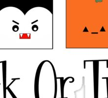 Trick or Treat Monsters Sticker