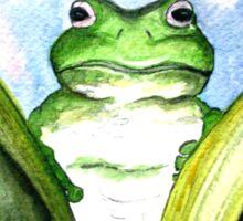 Peeping Frog  Sticker