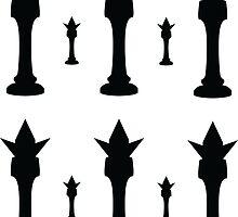 King Chess Piece by daveit