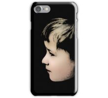 Little boy (T-Shirt & iPhone case) iPhone Case/Skin
