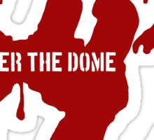 Under the Dome - Bloody hand Sticker
