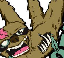 Zombie Sloth Sticker