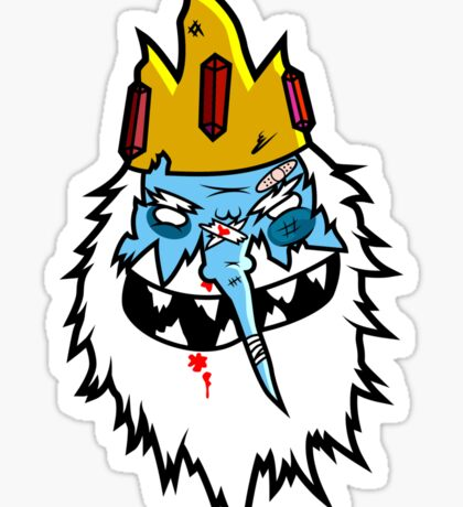 Ice King Sticker