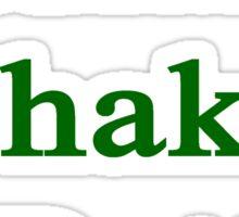 Indians Shake It Better  Sticker