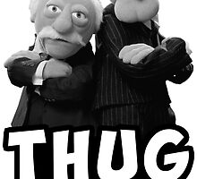 Waldorf and Statler | Thug Life | Muppets by Keith Pierce