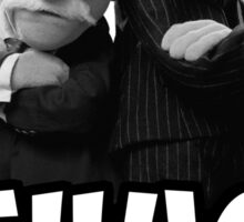 Waldorf and Statler | Thug Life | Muppets Sticker